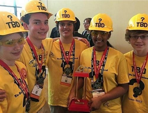 Aurora High School's Team TBD wins world robotics title