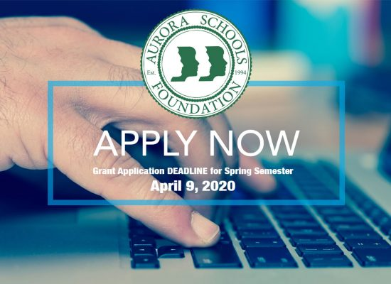 Apply now for April 9, 2020 application deadline!