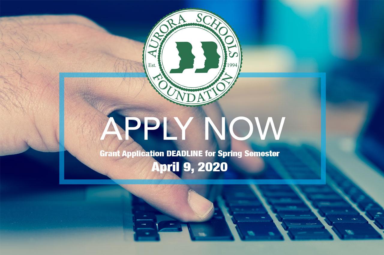 Apply now for April 9, 2020 application deadline!