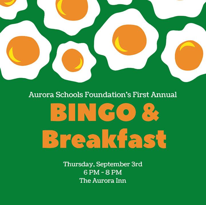 Bingo & Breakfast fundraiser